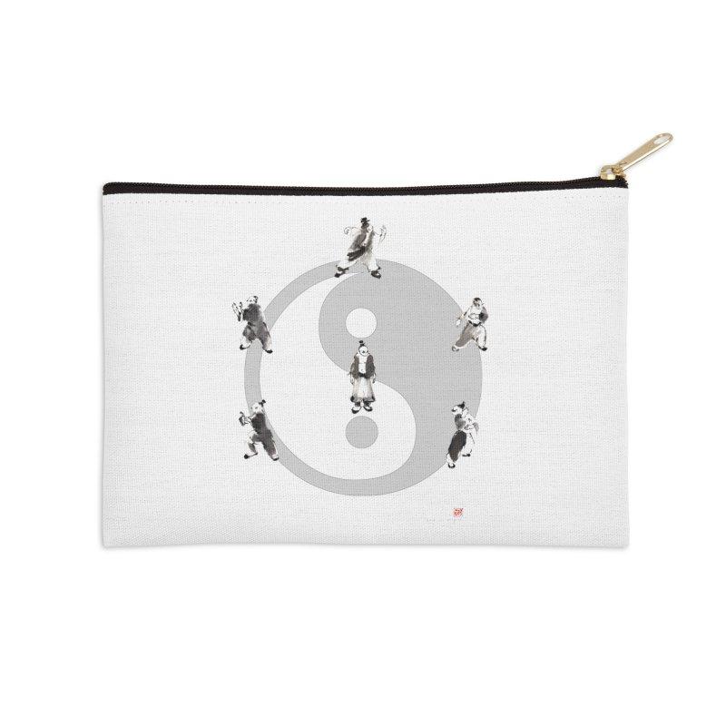 Yin Yang Tai Chi Art Image Accessories Zip Pouch by arttaichi's Artist Shop