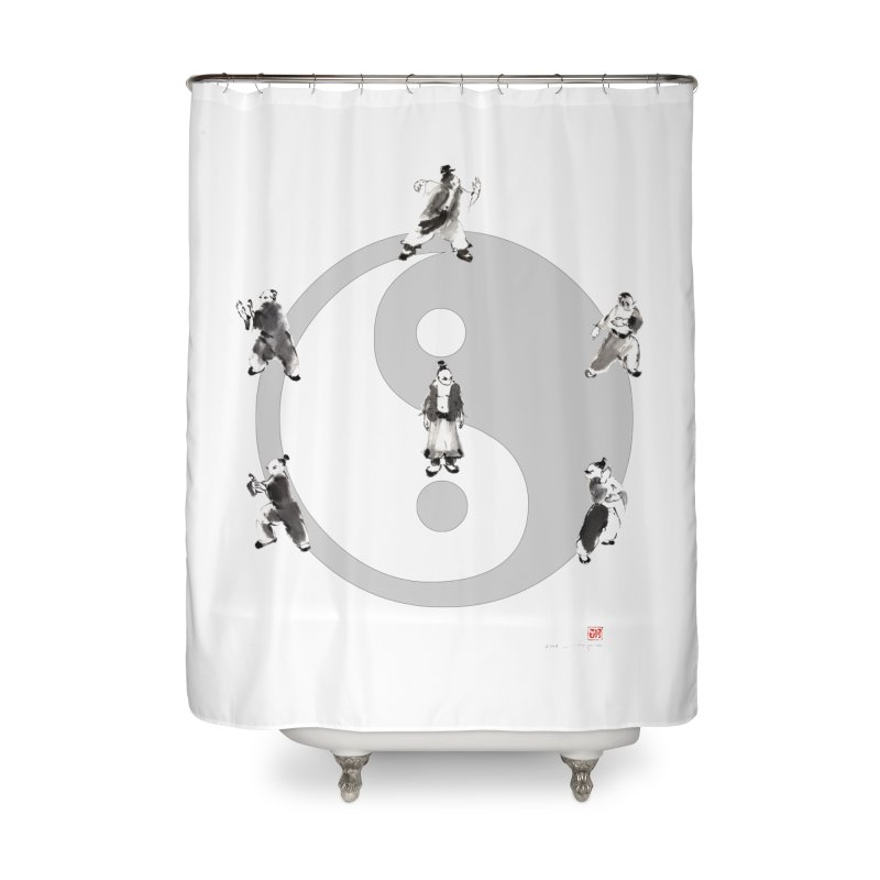 Yin Yang Tai Chi Art Image Home Shower Curtain by arttaichi's Artist Shop