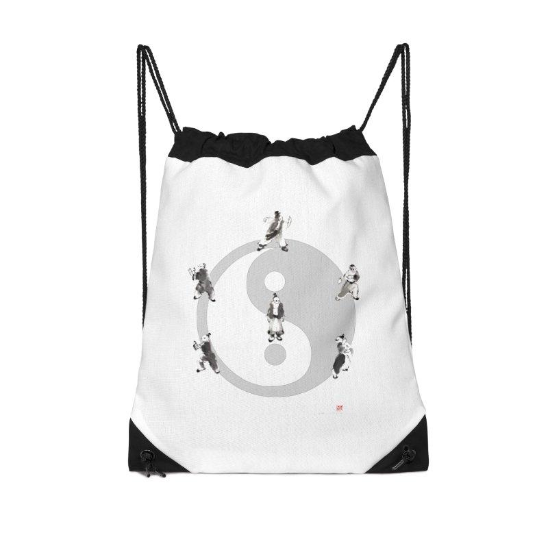 Yin Yang Tai Chi Art Image Accessories Drawstring Bag Bag by arttaichi's Artist Shop