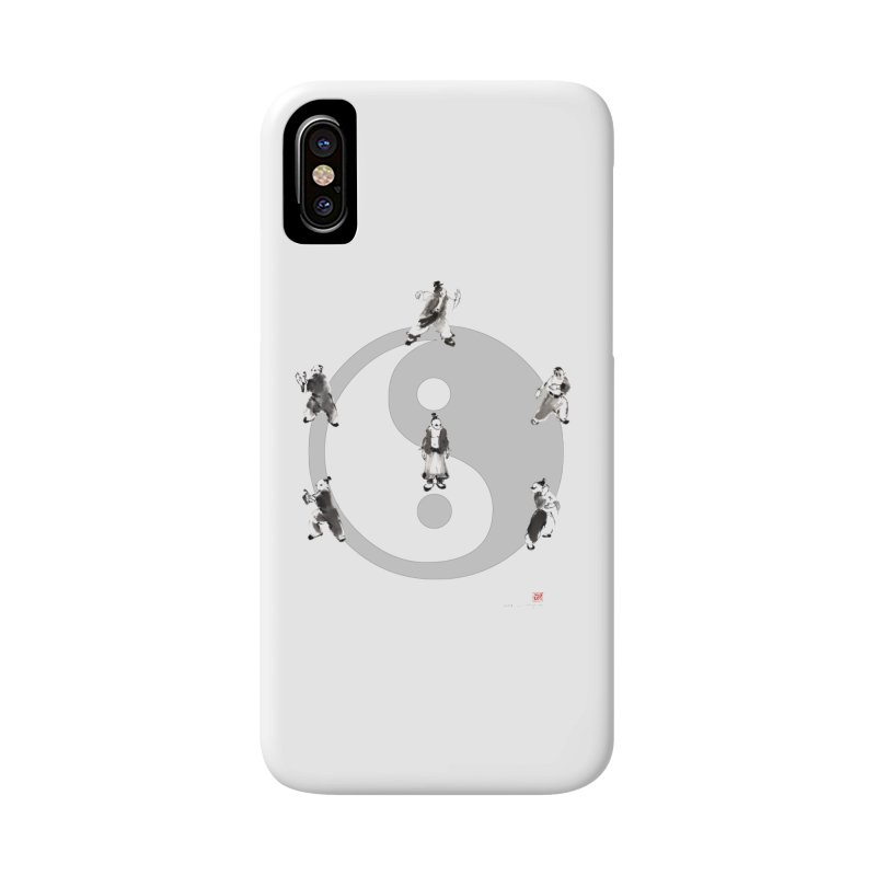 Yin Yang Tai Chi Art Image Accessories Phone Case by arttaichi's Artist Shop