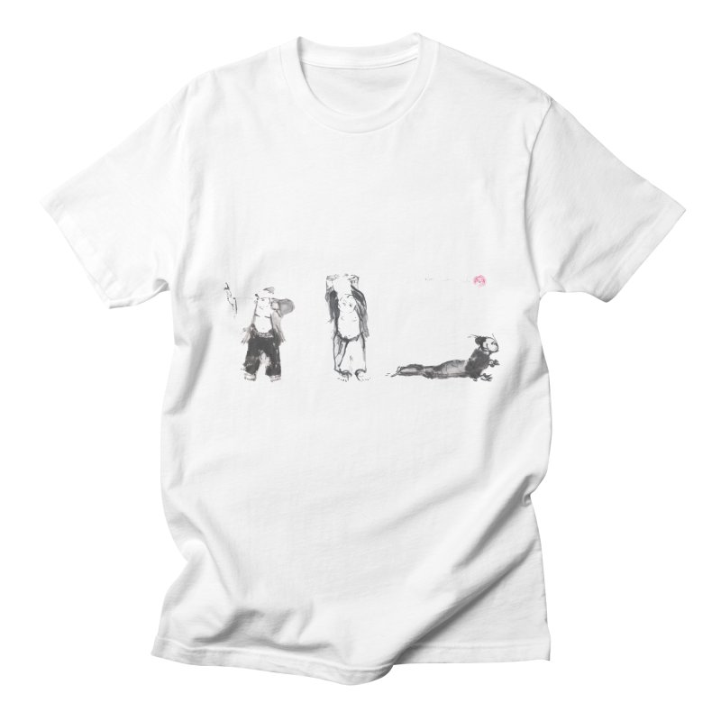 Chi Kung and Yoga Postures Men's T-Shirt by arttaichi's Artist Shop