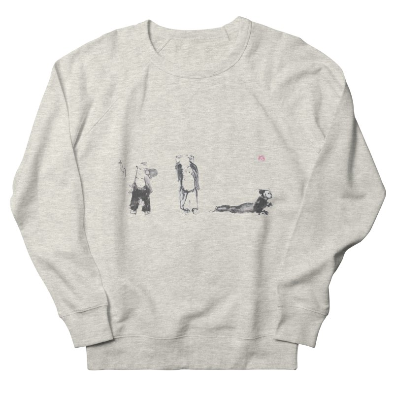 Chi Kung and Yoga Postures Women's French Terry Sweatshirt by arttaichi's Artist Shop