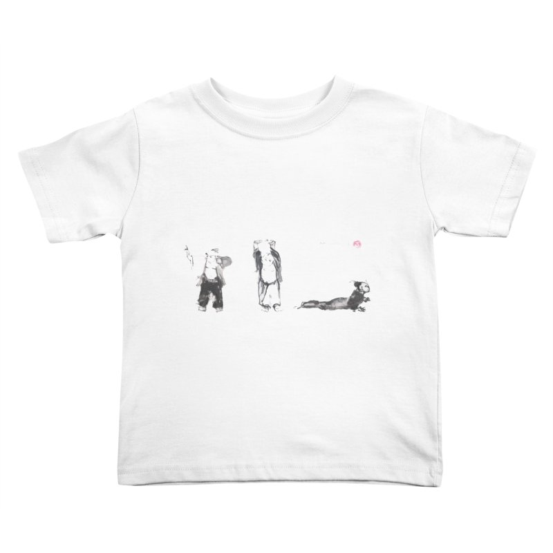 Chi Kung and Yoga Postures Kids Toddler T-Shirt by arttaichi's Artist Shop
