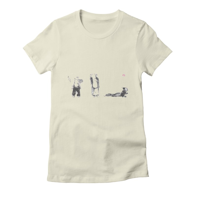 Chi Kung and Yoga Postures Women's T-Shirt by arttaichi's Artist Shop