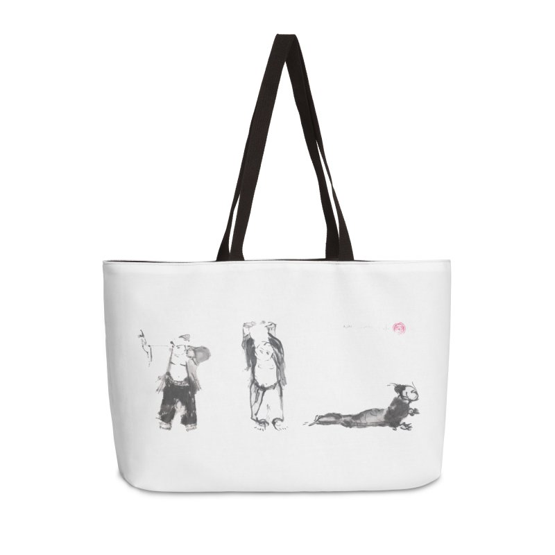 Chi Kung and Yoga Postures Accessories Weekender Bag Bag by arttaichi's Artist Shop