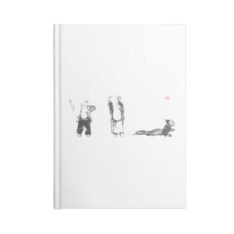 Chi Kung and Yoga Postures Accessories Lined Journal Notebook by arttaichi's Artist Shop