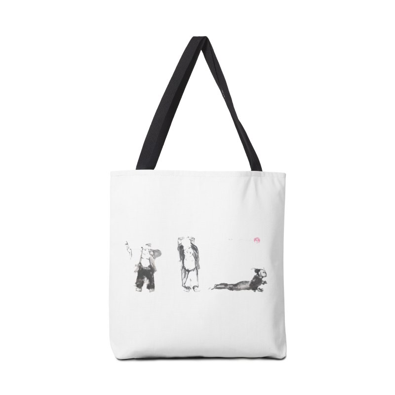 Chi Kung and Yoga Postures Accessories Tote Bag Bag by arttaichi's Artist Shop