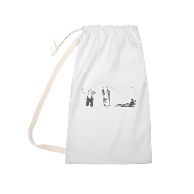 Chi Kung and Yoga Postures Accessories Laundry Bag Bag by arttaichi's Artist Shop