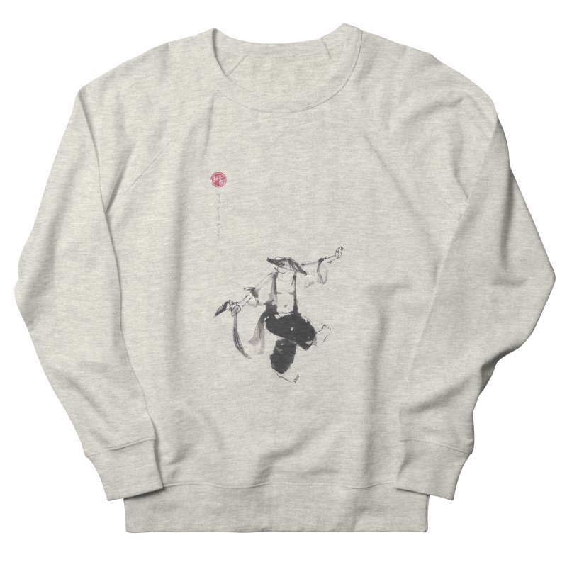 Tai Chi Broad Sword - Saber Men's French Terry Sweatshirt by arttaichi's Artist Shop