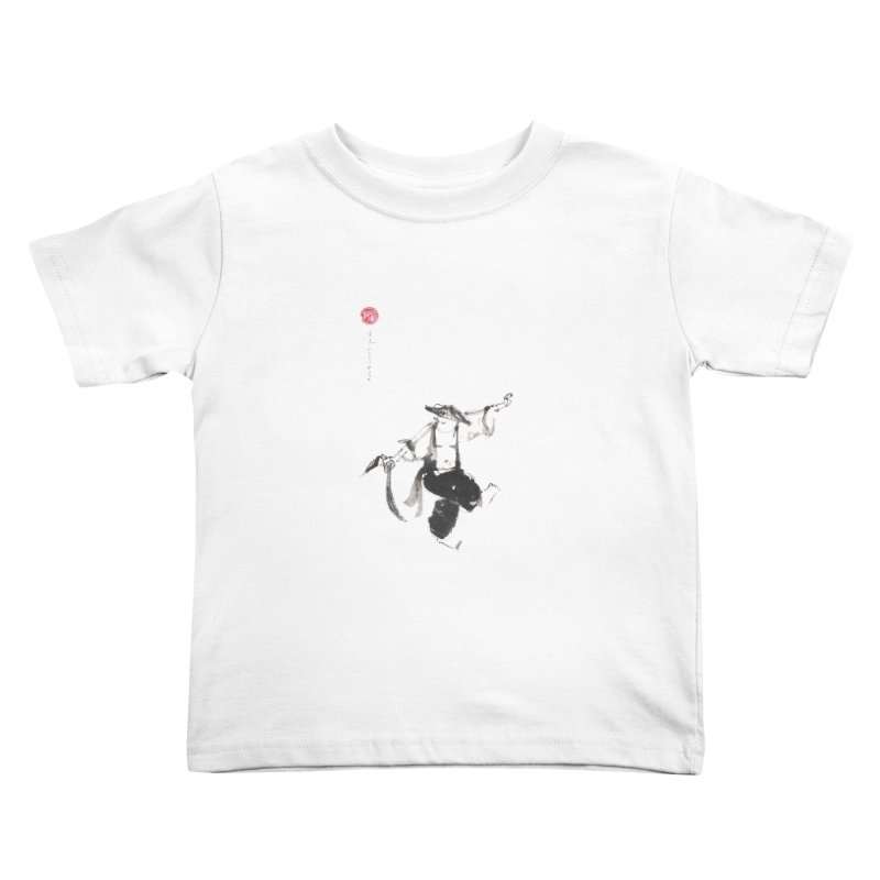 Tai Chi Broad Sword - Saber Kids Toddler T-Shirt by arttaichi's Artist Shop