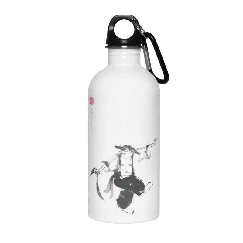 Tai Chi Broad Sword - Saber Accessories Water Bottle by arttaichi's Artist Shop