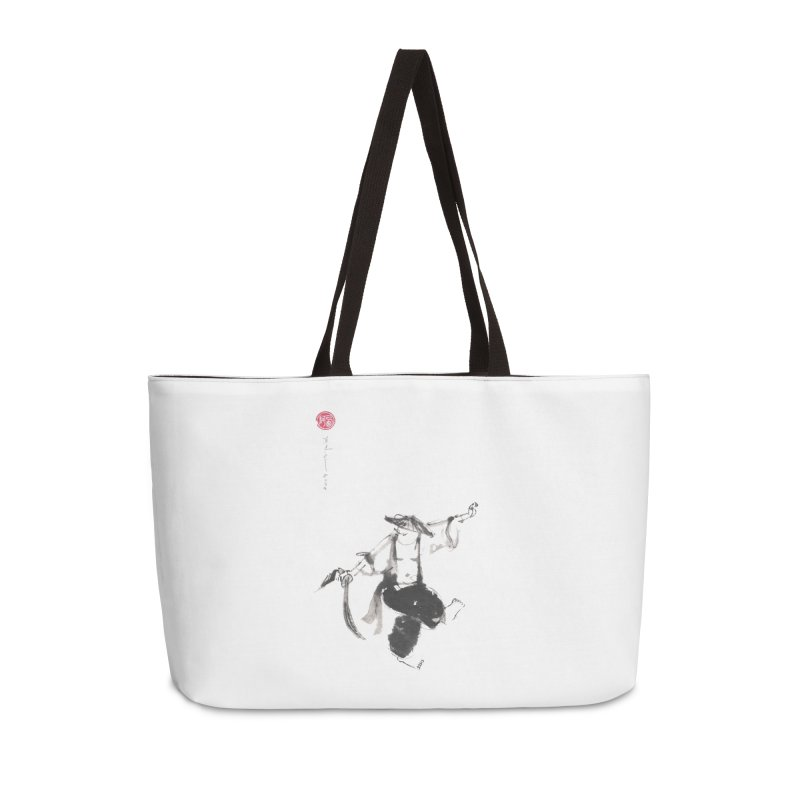 Tai Chi Broad Sword - Saber Accessories Weekender Bag Bag by arttaichi's Artist Shop