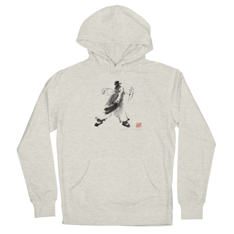 Single Whip Men's French Terry Pullover Hoody by arttaichi's Artist Shop