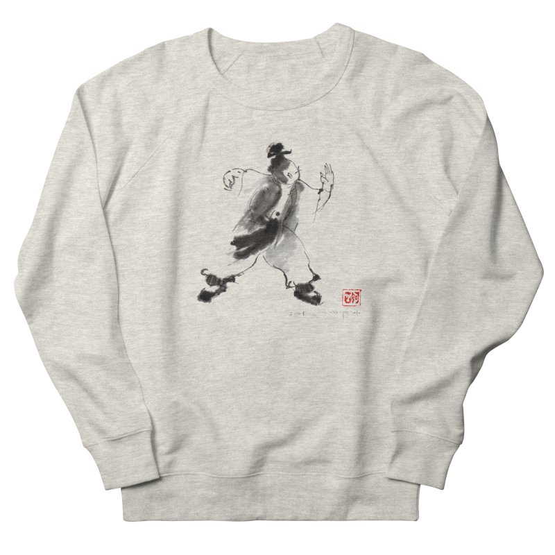 Single Whip Women's French Terry Sweatshirt by arttaichi's Artist Shop