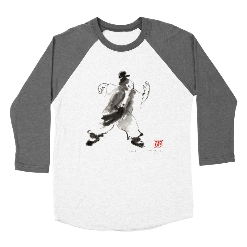 Single Whip Men's Baseball Triblend T-Shirt by arttaichi's Artist Shop