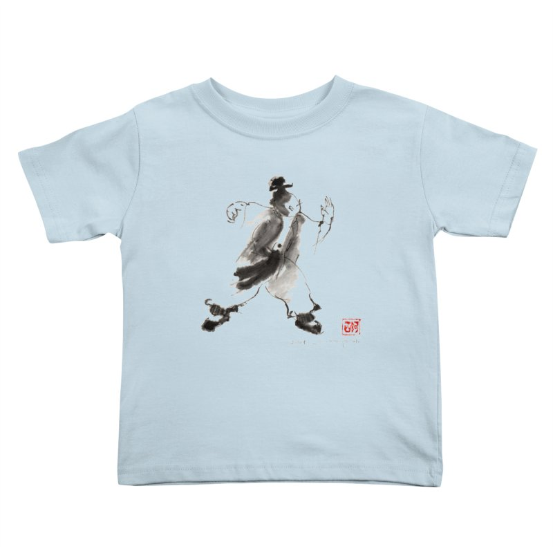 Single Whip Kids Toddler T-Shirt by arttaichi's Artist Shop