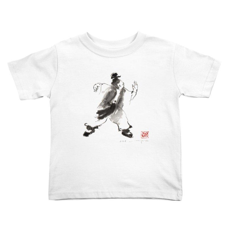 Single Whip Kids Toddler T-Shirt by arttaichi's Artist Shop