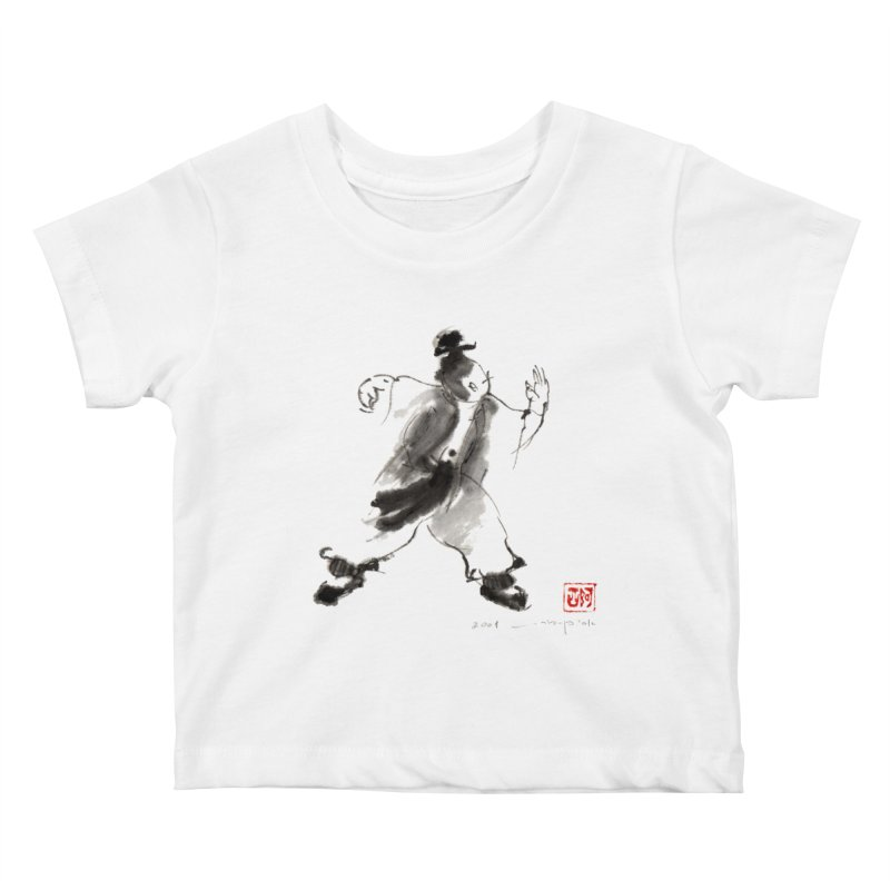 Single Whip Kids Baby T-Shirt by arttaichi's Artist Shop