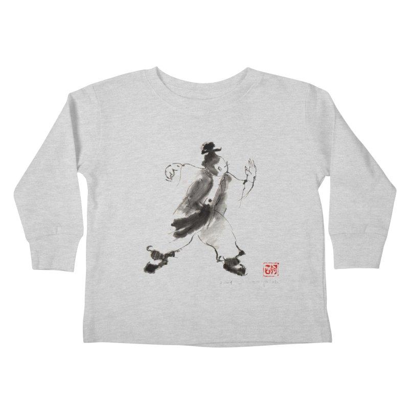 Single Whip Kids Toddler Longsleeve T-Shirt by arttaichi's Artist Shop