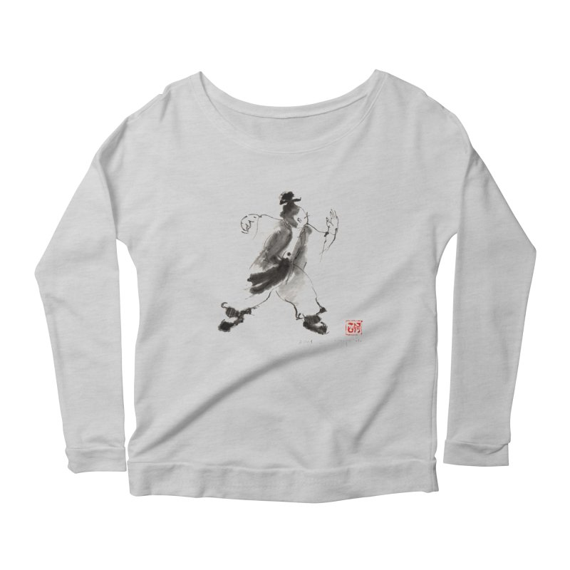 Single Whip Women's Scoop Neck Longsleeve T-Shirt by arttaichi's Artist Shop