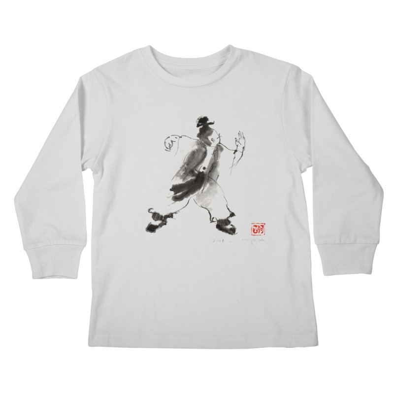 Single Whip Kids Longsleeve T-Shirt by arttaichi's Artist Shop