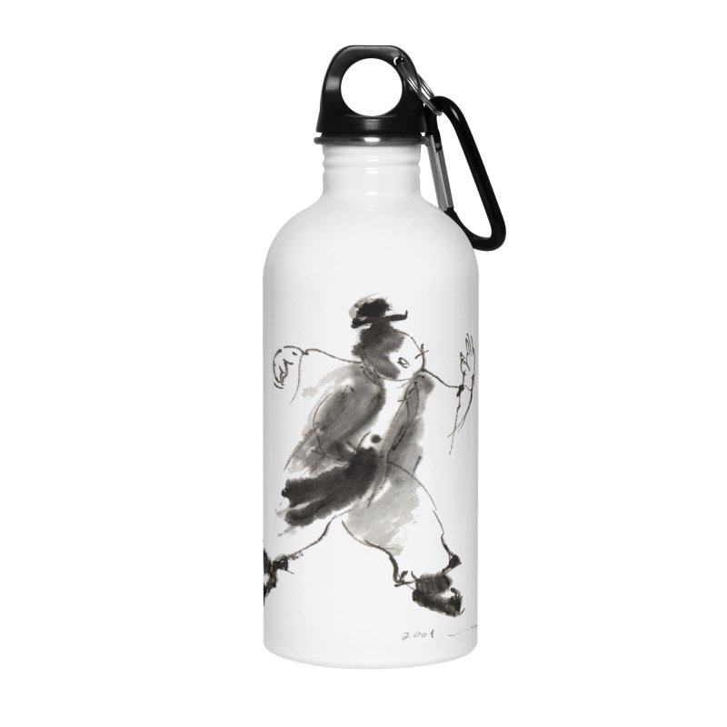 Single Whip Accessories Water Bottle by arttaichi's Artist Shop