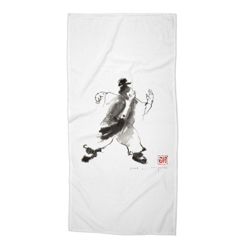 Single Whip Accessories Beach Towel by arttaichi's Artist Shop