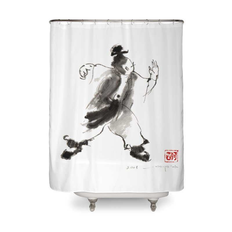 Single Whip Home Shower Curtain by arttaichi's Artist Shop
