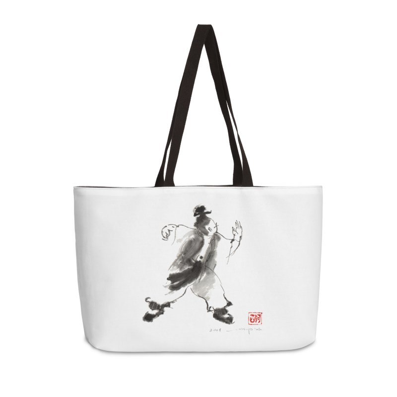 Single Whip Accessories Weekender Bag Bag by arttaichi's Artist Shop