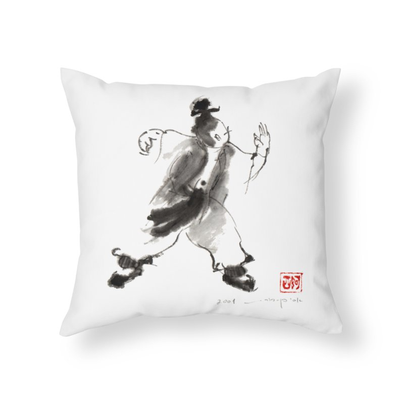 Single Whip Home Throw Pillow by arttaichi's Artist Shop