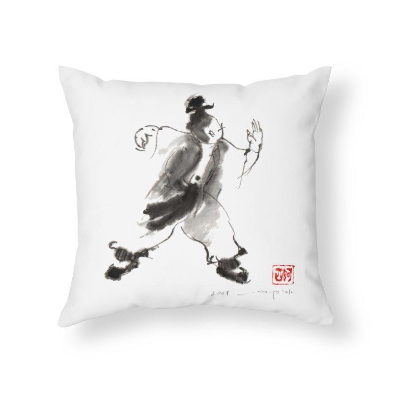 Single Whip Home Throw Pillow by arttaichi's Artist Shop