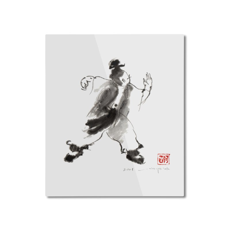 Single Whip Home Mounted Aluminum Print by arttaichi's Artist Shop
