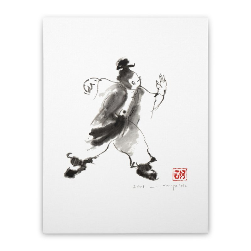 Tai Chi Art Image Single Whip Home Stretched Canvas by arttaichi's Artist Shop
