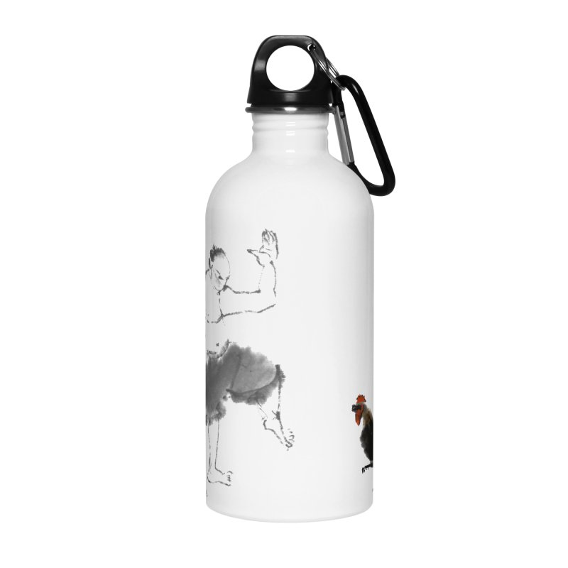 Golden Rooster Accessories Water Bottle by arttaichi's Artist Shop