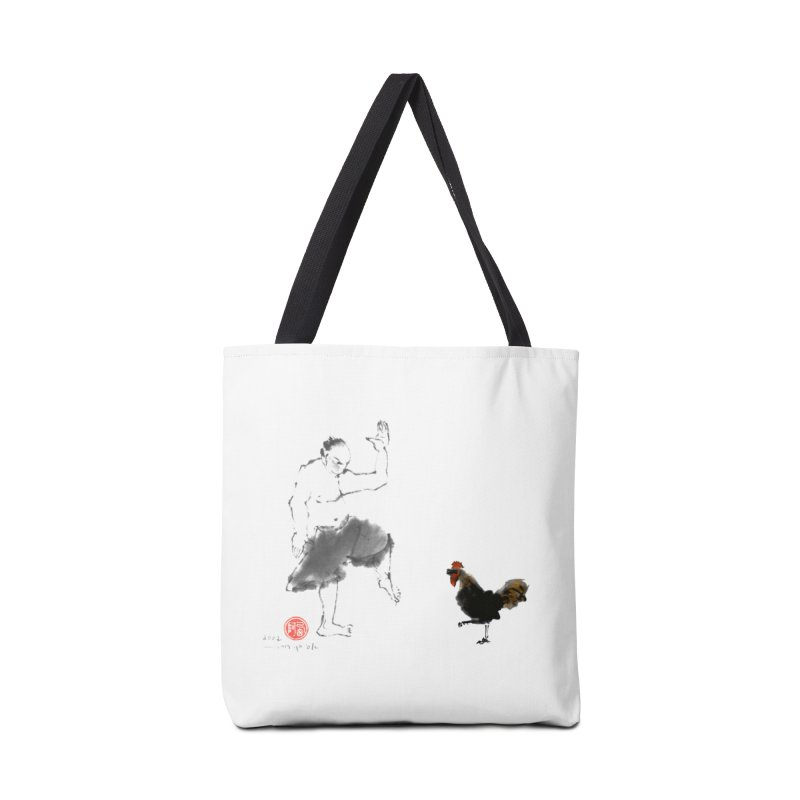 Golden Rooster Accessories Tote Bag Bag by arttaichi's Artist Shop