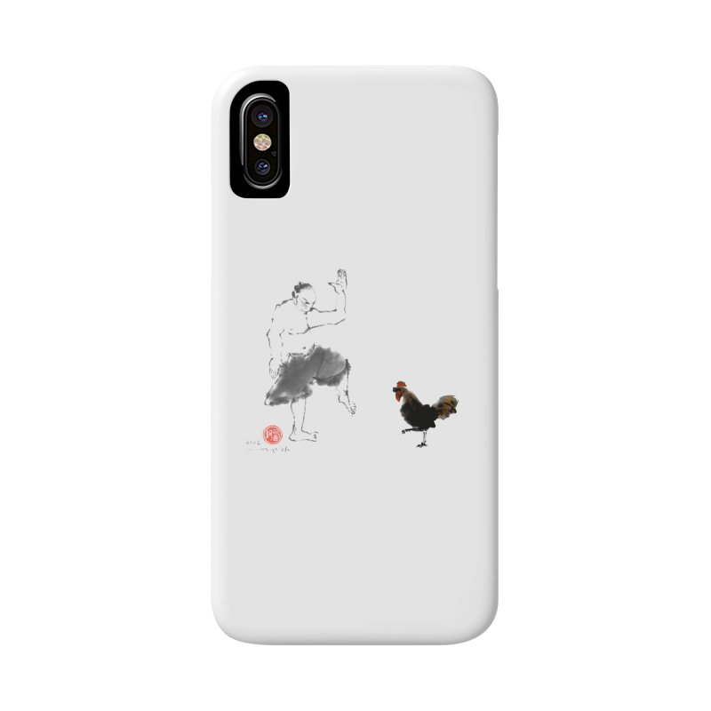 Golden Rooster Accessories Phone Case by arttaichi's Artist Shop