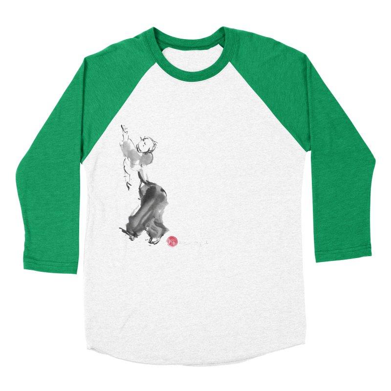 Pa Kua Double Change Men's Baseball Triblend Longsleeve T-Shirt by arttaichi's Artist Shop