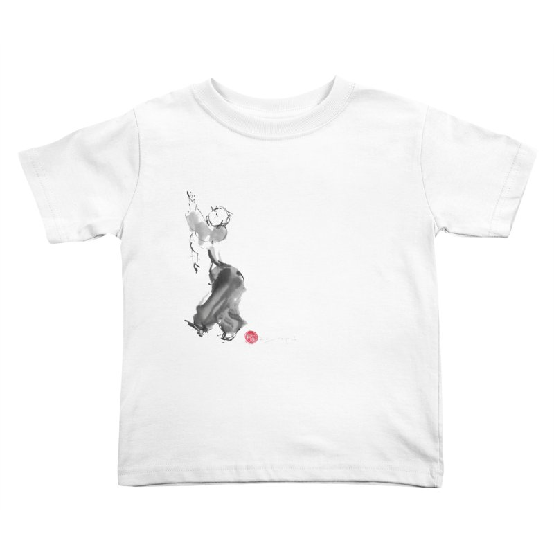 Pa Kua Double Change Kids Toddler T-Shirt by arttaichi's Artist Shop