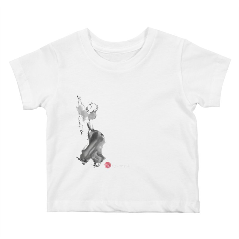 Pa Kua Double Change Kids Baby T-Shirt by arttaichi's Artist Shop