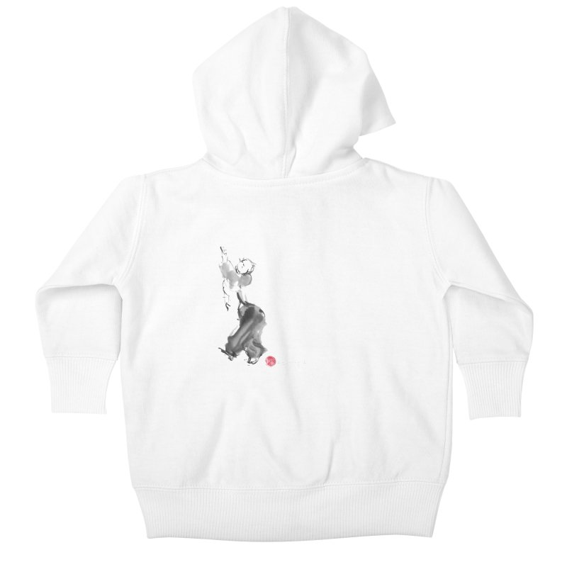 Pa Kua Double Change Kids Baby Zip-Up Hoody by arttaichi's Artist Shop