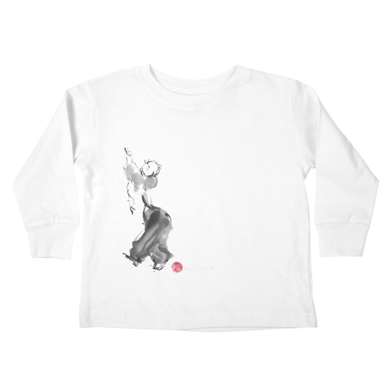 Pa Kua Double Change Kids Toddler Longsleeve T-Shirt by arttaichi's Artist Shop