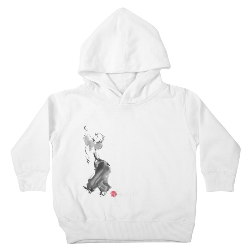 Pa Kua Double Change Kids Toddler Pullover Hoody by arttaichi's Artist Shop