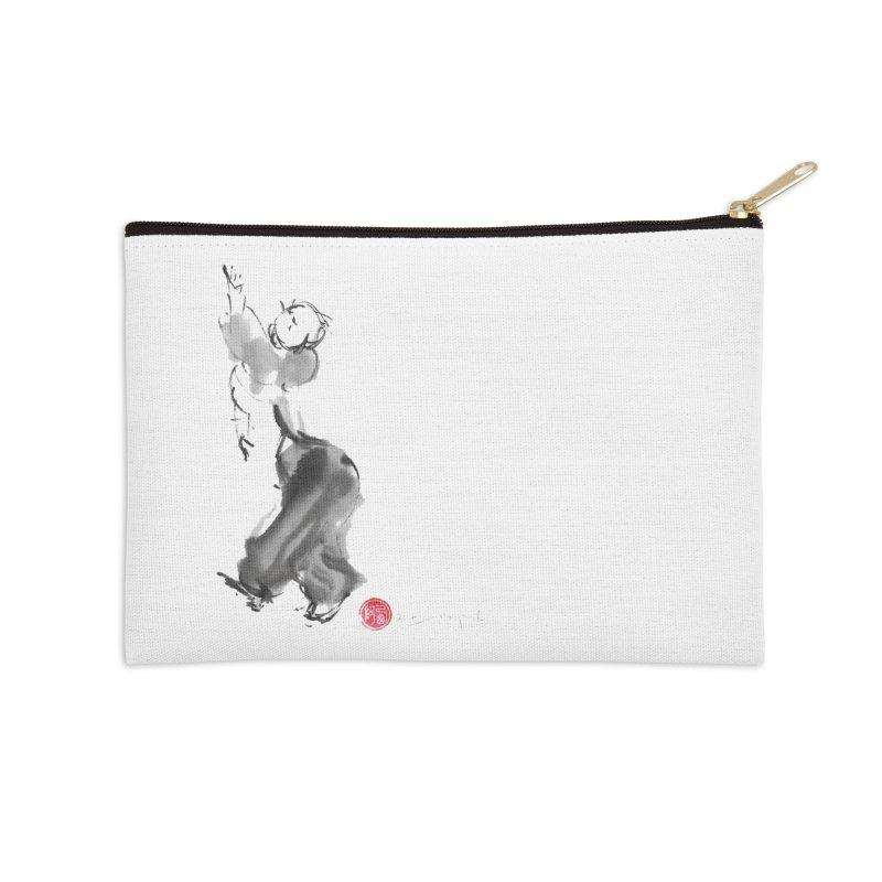 Pa Kua Double Change Accessories Zip Pouch by arttaichi's Artist Shop