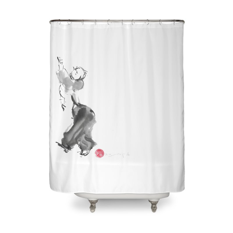 Pa Kua Double Change Home Shower Curtain by arttaichi's Artist Shop
