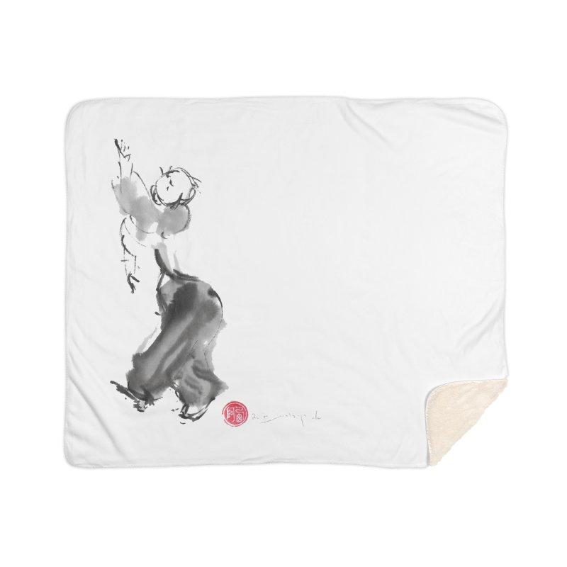 Pa Kua Double Change Home Sherpa Blanket Blanket by arttaichi's Artist Shop