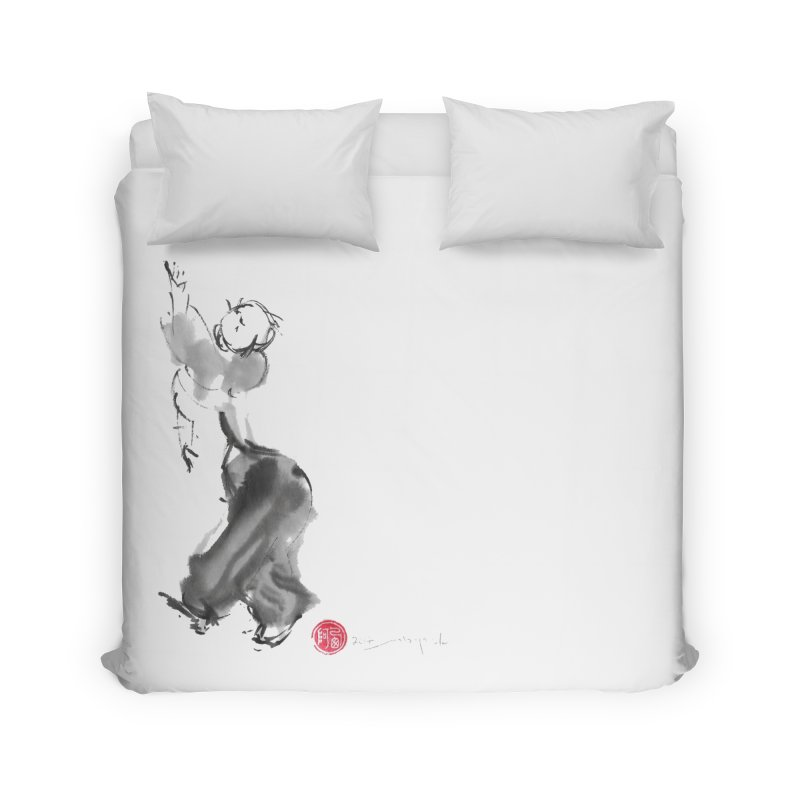 Pa Kua Double Change Home Duvet by arttaichi's Artist Shop