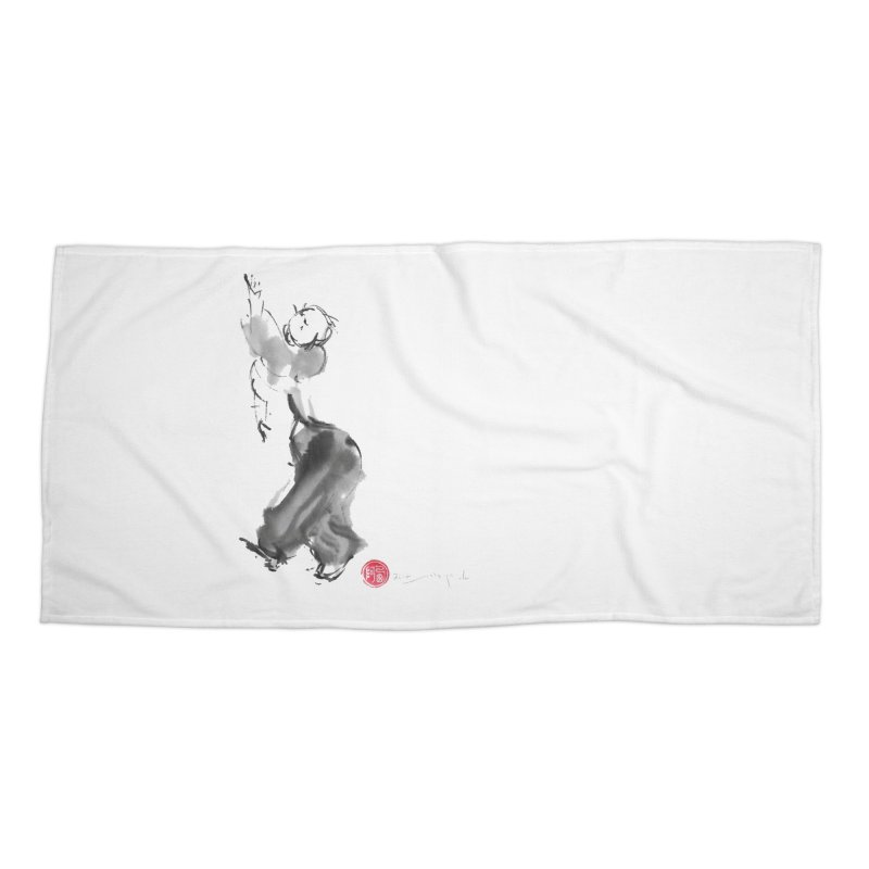 Pa Kua Double Change Accessories Beach Towel by arttaichi's Artist Shop