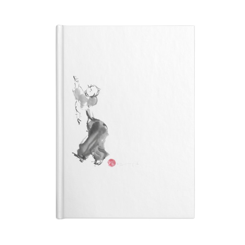 Pa Kua Double Change Accessories Lined Journal Notebook by arttaichi's Artist Shop