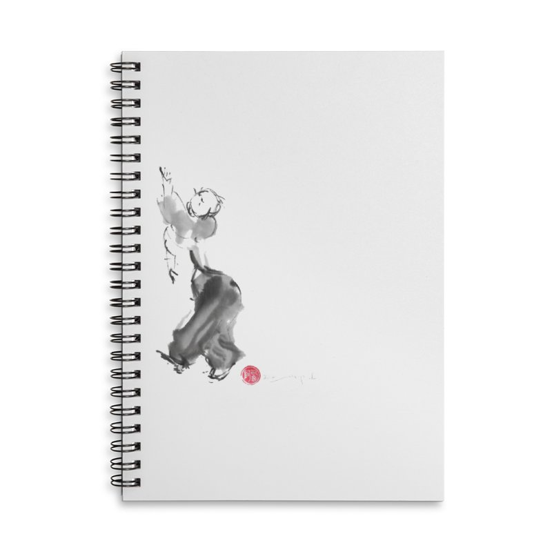 Pa Kua Double Change Accessories Lined Spiral Notebook by arttaichi's Artist Shop