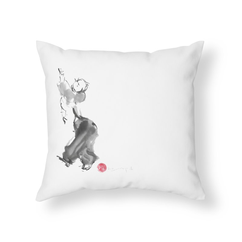 Pa Kua Double Change Home Throw Pillow by arttaichi's Artist Shop